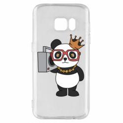 Чохол для Samsung S7 Cool panda