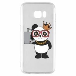 Чохол для Samsung S7 EDGE Cool panda