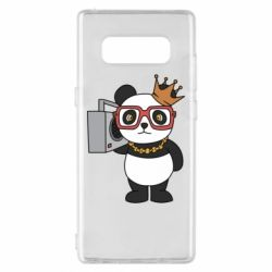 Чохол для Samsung Note 8 Cool panda