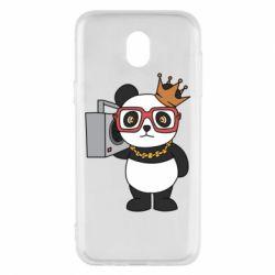Чохол для Samsung J5 2017 Cool panda