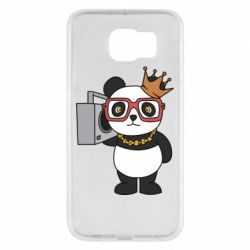 Чохол для Samsung S6 Cool panda
