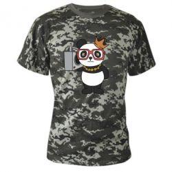 Камуфляжна футболка Cool panda