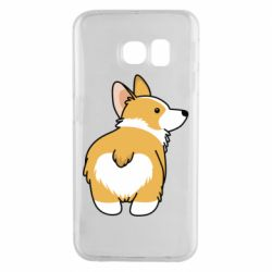 Чохол для Samsung S6 EDGE Corgi back