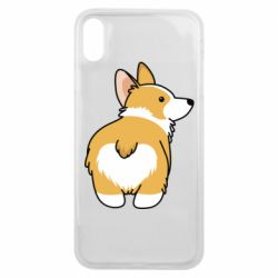 Чохол для iPhone Xs Max Corgi back