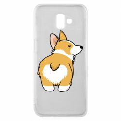 Чохол для Samsung J6 Plus 2018 Corgi back