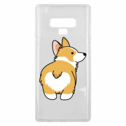Чохол для Samsung Note 9 Corgi back