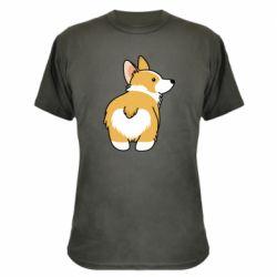 Камуфляжна футболка Corgi back