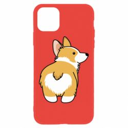 Чохол для iPhone 11 Corgi back