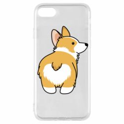 Чохол для iPhone 7 Corgi back