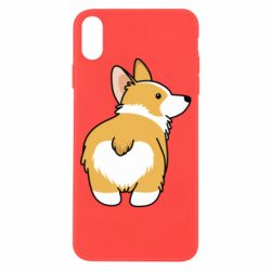 Чохол для iPhone X/Xs Corgi back