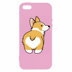 Чохол для iphone 5/5S/SE Corgi back