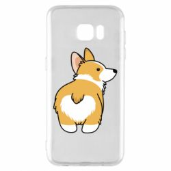 Чохол для Samsung S7 EDGE Corgi back