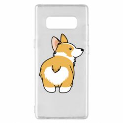 Чохол для Samsung Note 8 Corgi back