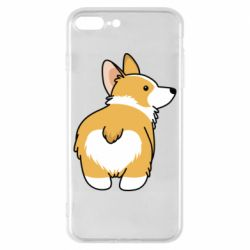 Чохол для iPhone 8 Plus Corgi back