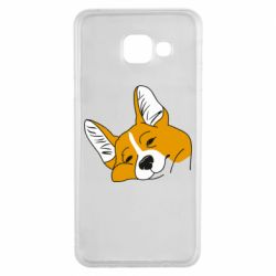 Чохол для Samsung A3 2016 Corgi is dozing