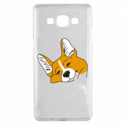 Чохол для Samsung A5 2015 Corgi is dozing