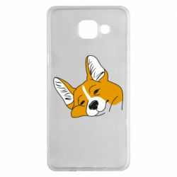 Чохол для Samsung A5 2016 Corgi is dozing