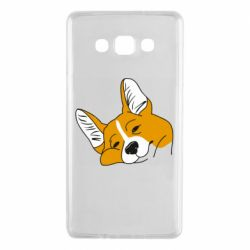 Чохол для Samsung A7 2015 Corgi is dozing