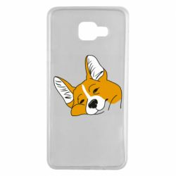 Чохол для Samsung A7 2016 Corgi is dozing