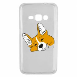 Чохол для Samsung J1 2016 Corgi is dozing