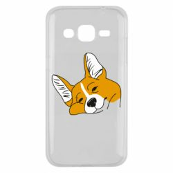 Чохол для Samsung J2 2015 Corgi is dozing