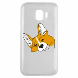 Чохол для Samsung J2 2018 Corgi is dozing