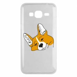 Чохол для Samsung J3 2016 Corgi is dozing