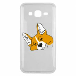 Чохол для Samsung J5 2015 Corgi is dozing
