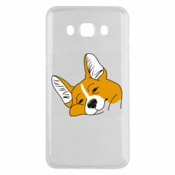Чохол для Samsung J5 2016 Corgi is dozing