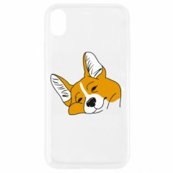 Чохол для iPhone XR Corgi is dozing