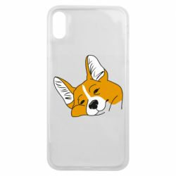 Чохол для iPhone Xs Max Corgi is dozing