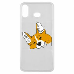 Чохол для Samsung A6s Corgi is dozing