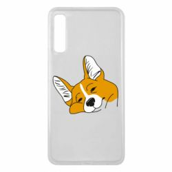 Чохол для Samsung A7 2018 Corgi is dozing