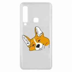Чохол для Samsung A9 2018 Corgi is dozing