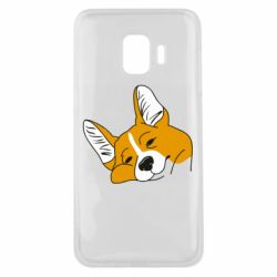 Чохол для Samsung J2 Core Corgi is dozing