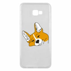 Чохол для Samsung J4 Plus 2018 Corgi is dozing