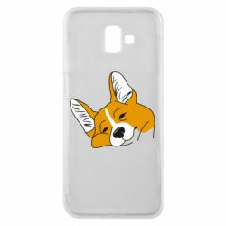 Чохол для Samsung J6 Plus 2018 Corgi is dozing