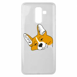 Чохол для Samsung J8 2018 Corgi is dozing