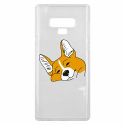 Чохол для Samsung Note 9 Corgi is dozing