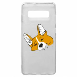 Чохол для Samsung S10+ Corgi is dozing