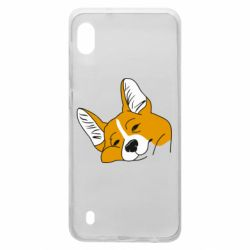 Чохол для Samsung A10 Corgi is dozing