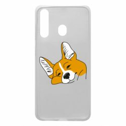 Чохол для Samsung A60 Corgi is dozing