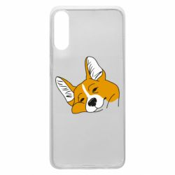 Чохол для Samsung A70 Corgi is dozing
