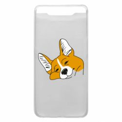 Чохол для Samsung A80 Corgi is dozing