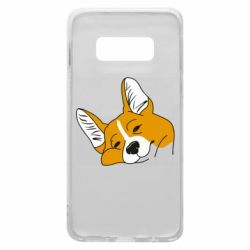 Чохол для Samsung S10e Corgi is dozing