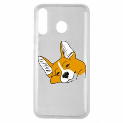 Чохол для Samsung M30 Corgi is dozing