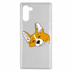 Чохол для Samsung Note 10 Corgi is dozing