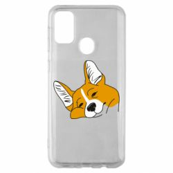Чохол для Samsung M30s Corgi is dozing
