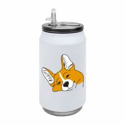 Термобанка 350ml Corgi is dozing