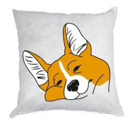 Подушка Corgi is dozing